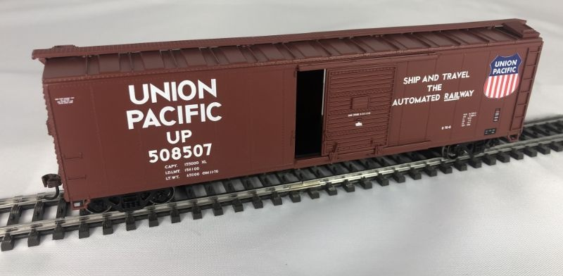 50 Single Door Box Car der UP, Spur H0