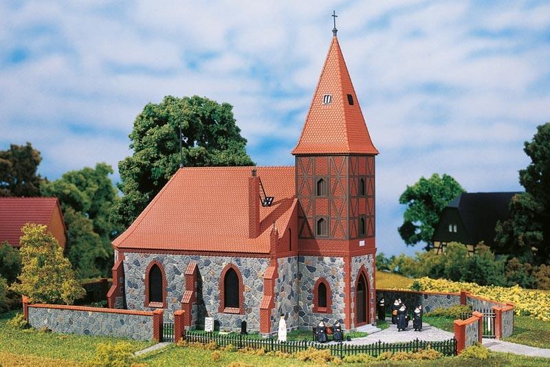 Dorfkirche, Bausatz, Spur H0