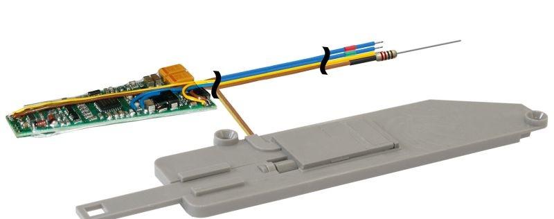 Motorischer Weichenantrieb für Märklin/Trix C-Gleis Spur H0