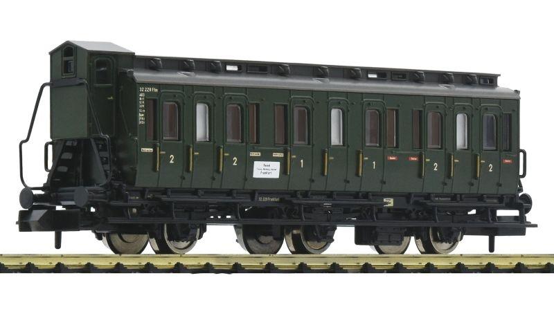 3-achsiger Abteilwagen 1./2. Klasse der DB, DC, Spur N