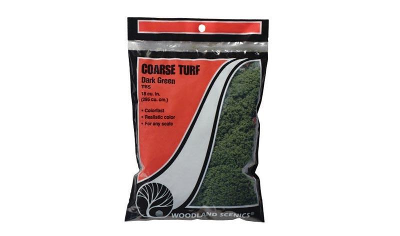 Streumaterial für hohes Gras, dunkelgrün, grob, 22 g