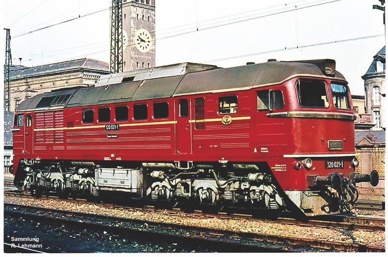 Sound-Diesellok BR 120 der DR, Epoche IV, Spur H0