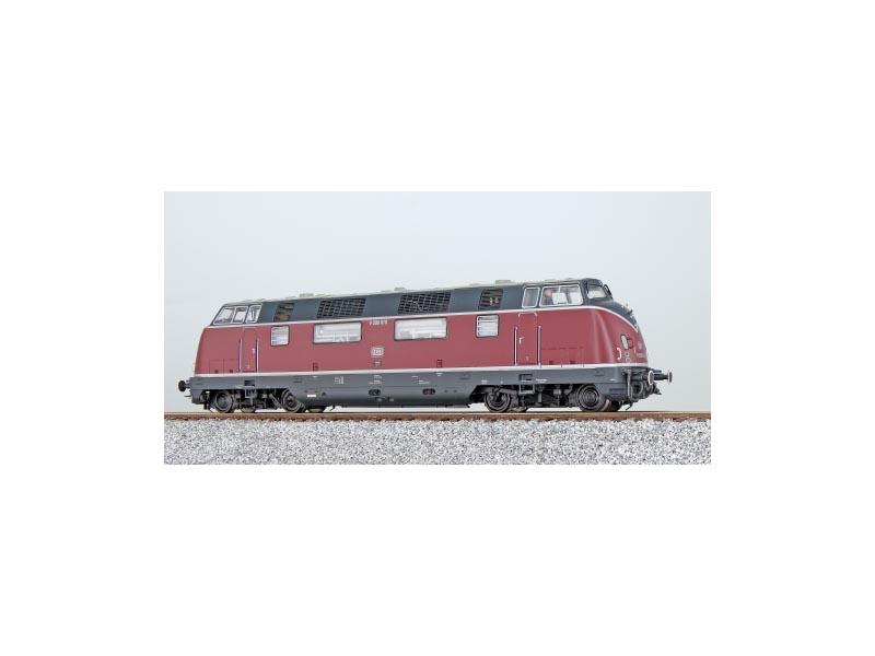 Diesellok V200 010 der DB, altrot, Epoche III, Spur H0