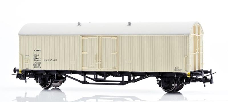 Topline Kühlwagen Ibblps 805 8 626-4 der SJ, Spur H0