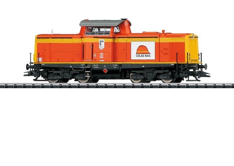 Sound-Diesellok BR 212 der Colas Rail, Epoche VI, Spur H0