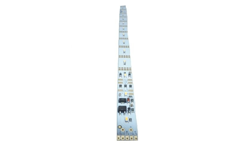 LED-Beleuchtungsplatine, warmweiß, Spur H0