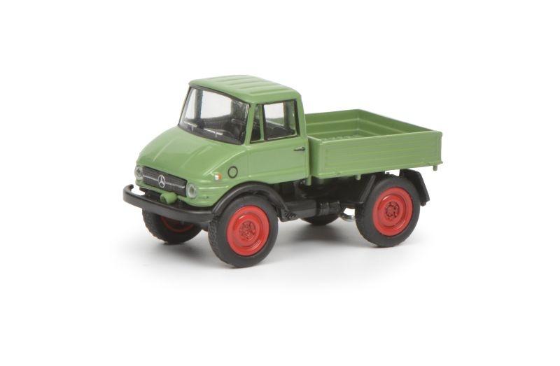 MB Unimog 406, hellgrün, 1:87 / H0