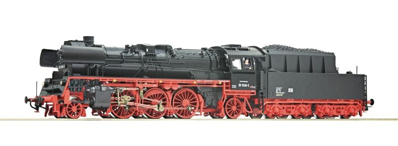 Dampflokomotive BR 35.10 der DR, DC, Spur H0