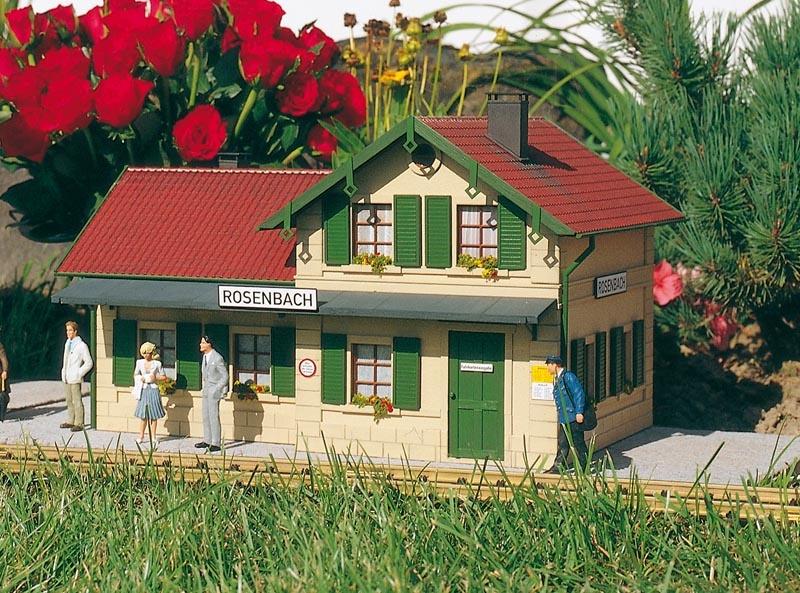Bahnhof Rosenbach, Bausatz, Spur G