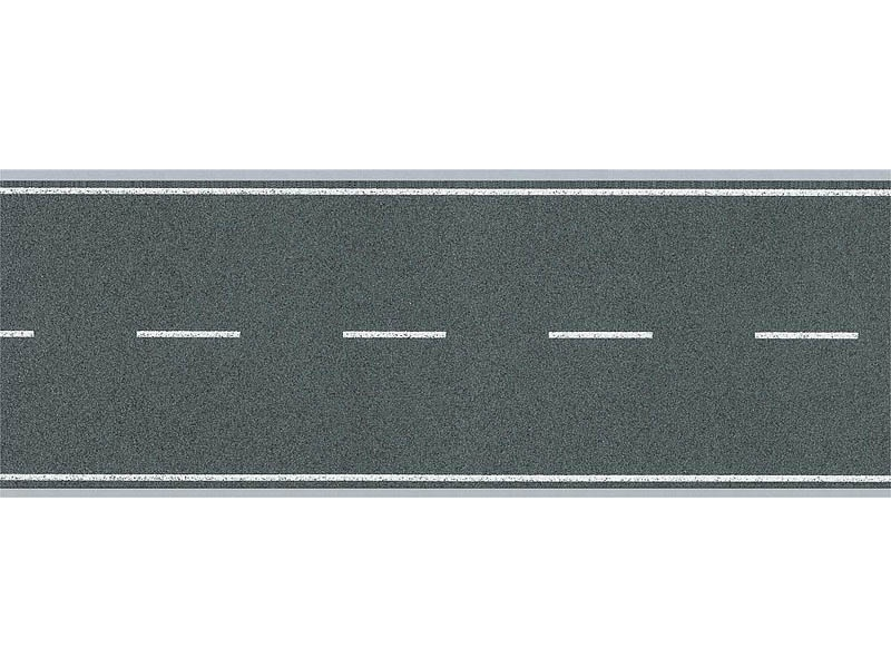 Straßenfolie selbstklebend 1000 x 40 mm N