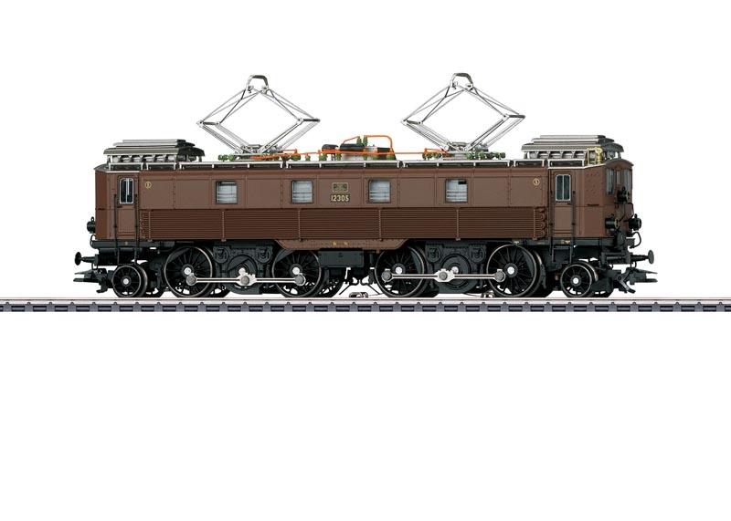 E-Lok Serie Be 4/6 der SBB, Sound, mfx+, DCC, AC, Spur H0