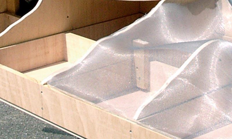 Aluminium Drahtgewebe 100 x 80 cm