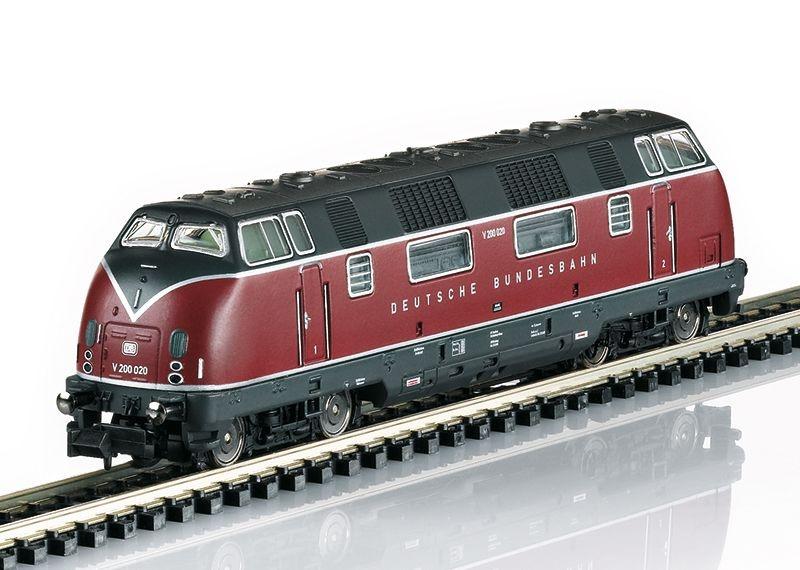 Sound-Diesellokomotive V200 020 der DB, Epoche III, Spur N