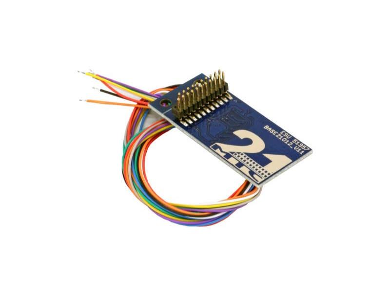 Adapterplatine 21MTC für 8 verstärkte Ausgänge, Lötkontakten