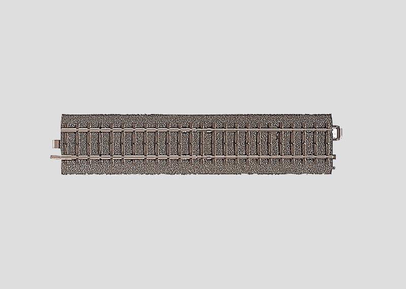 Übergangsgleis 180 mm von Metall- auf C-Gleise