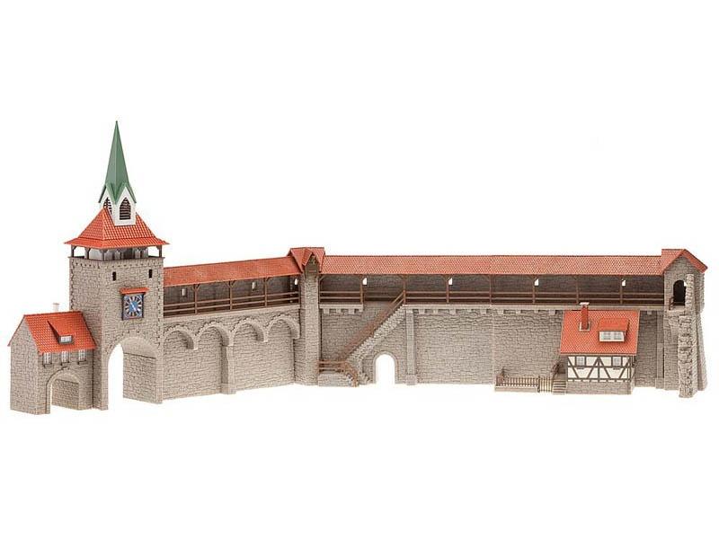 Altstadtmauer-Set Bausatz H0