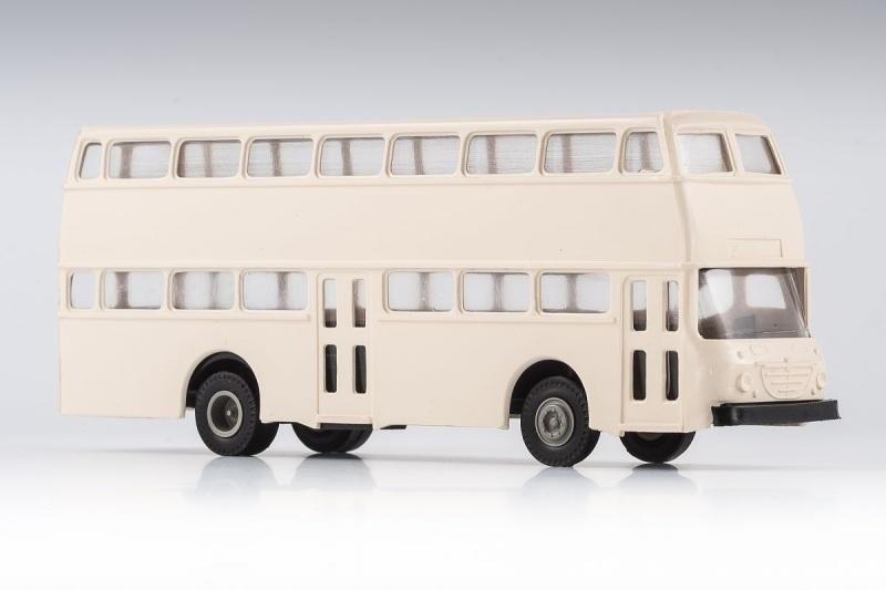 Büssing Präfekt Doppeldeckerbus Bausatz, 1:87 / Spur H0