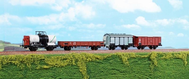 Set Güterwagen 4-teilig der FS, Epoche II, DC, Spur H0