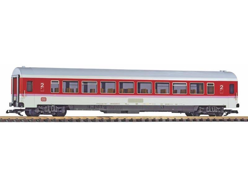 Personenwagen Bpmz 2. Kl. der DB orientrot IV, Spur G