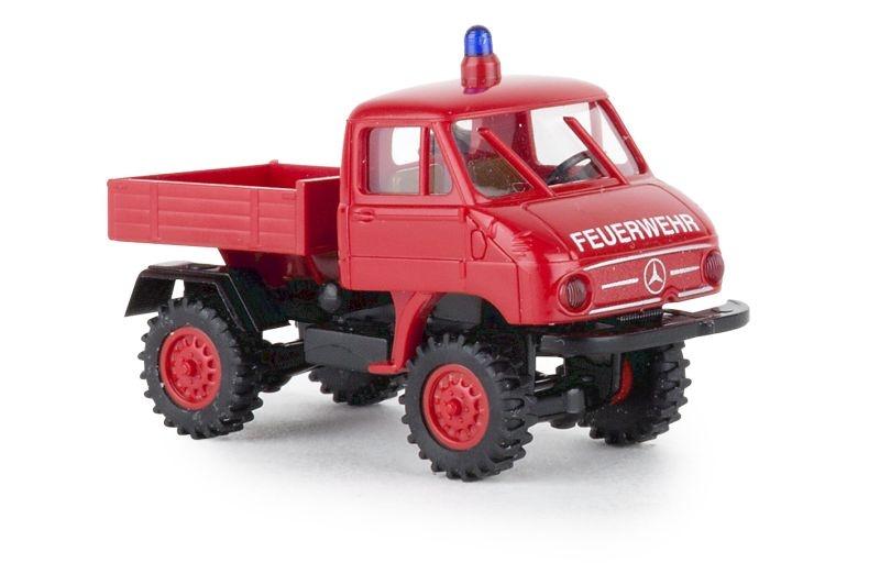 Mercedes Unimog 411 Feuerwehr, 1:87 / Spur H0