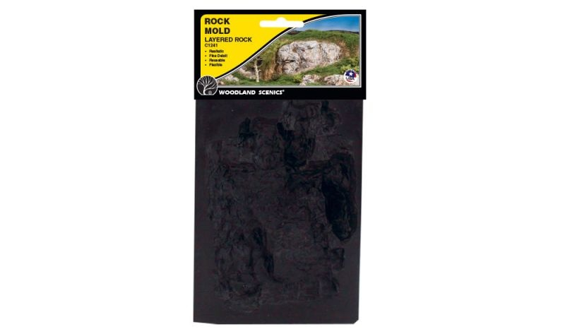 Rock Mold - Gießform Schichtfelsen
