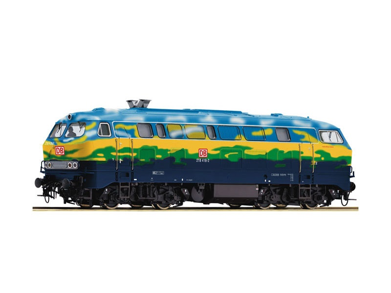 Diesellok BR 218 Touristik der DB AG, Sound, DC, Spur H0