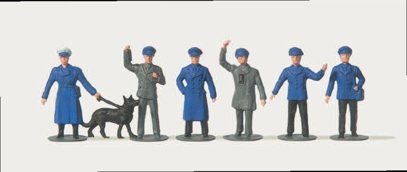 Bahnpersonal Figuren 1:87 / Spur H0