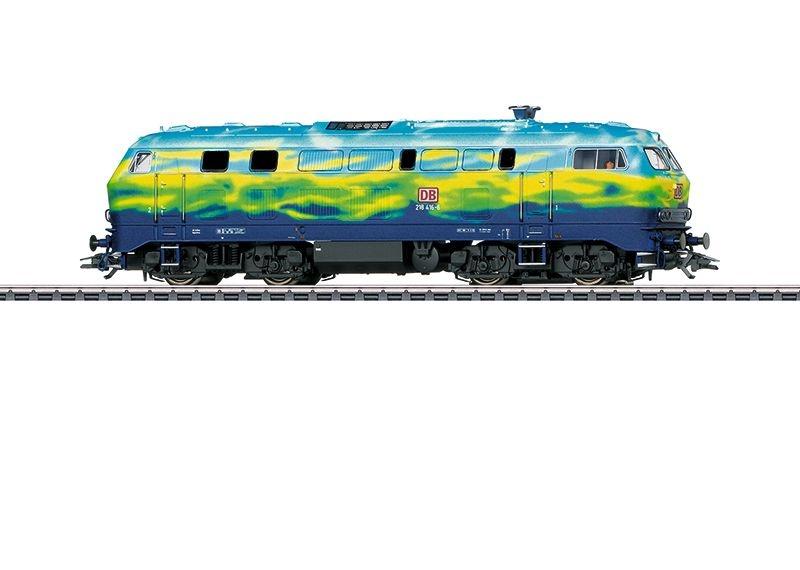 Sound-Diesellok BR 218 der DB AG, Touristikzug,Ep. V,Spur H0