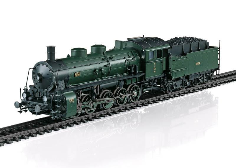 Güterzug-Dampflok G 5/5 mit Schlepptender H0