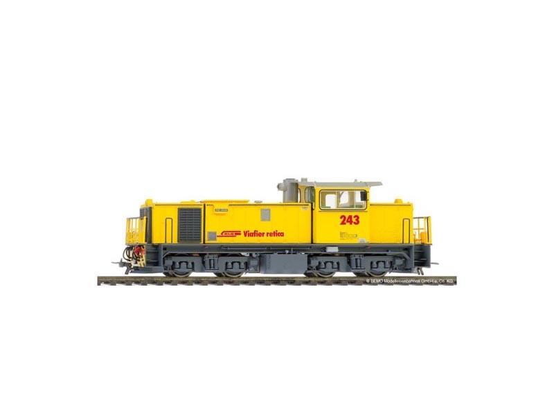 Diesellokomotive Gmf 4/4 243 der RhB, Spur H0m