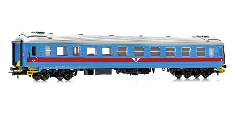 Topline Personenwagen B5K 4898 2 Kl. der SJ, Inter-Regio, H0