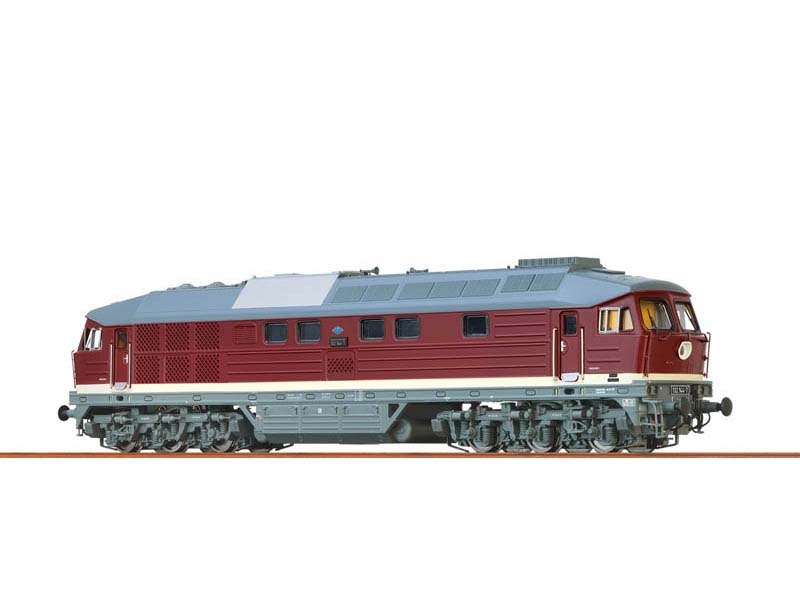 Diesellokomotive 132 DR, IV, EXTRA, Sound, DC, Spur N