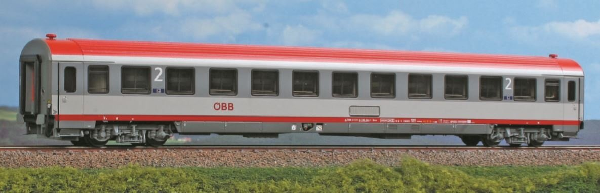 2. Klasse Abteilwagen Bmpz der ÖBB, Ep. V/VI, DC, Spur H0