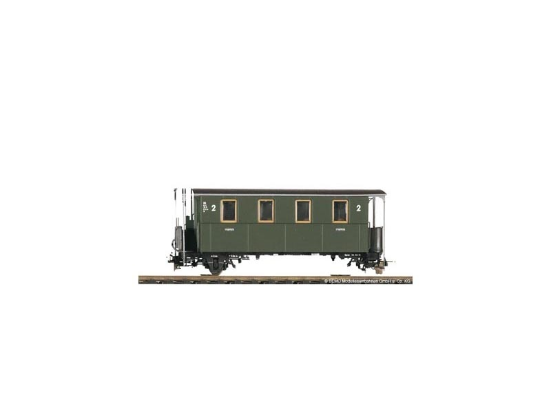 2-achsiger Personenwagen KBi 740 der DB, Spur H0e