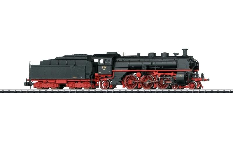 Schnellzugdampflok Baureihe 18.5 DR, Sound, Minitrix Spur N