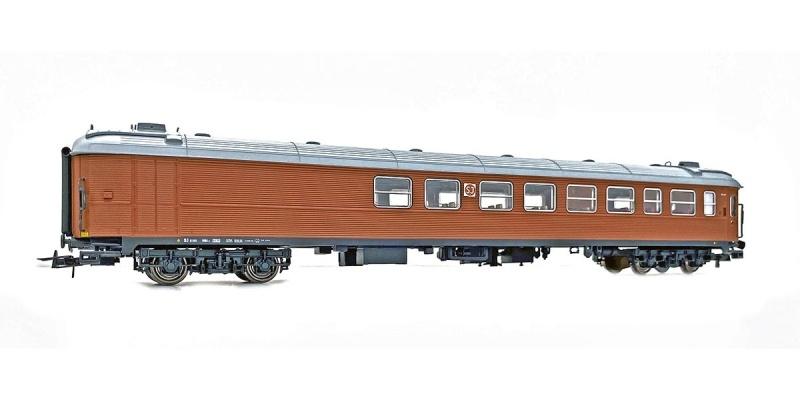 Topline SJ RB1 5190 Restaurant- und Personenwagen, Spur H0