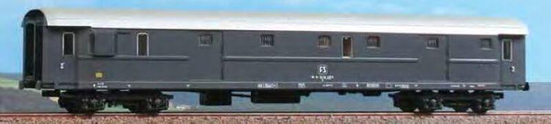 Gepäckwagen DUz 93000 Typ 1946 der FS, Epoche IV, Spur H0