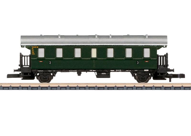 Personenwagen Donnerbüchse BCi-28 der DB, Spur Z