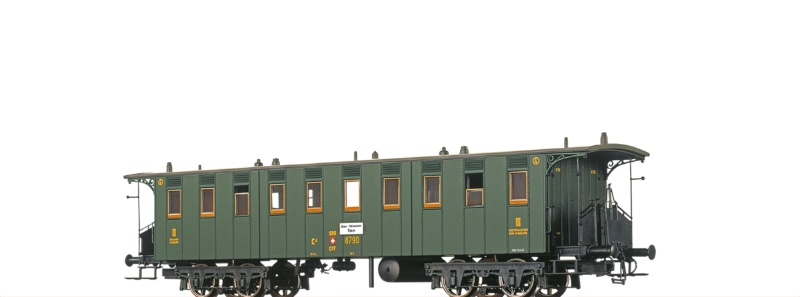 Personenwagen C4 der SBB, II, DC, Spur H0