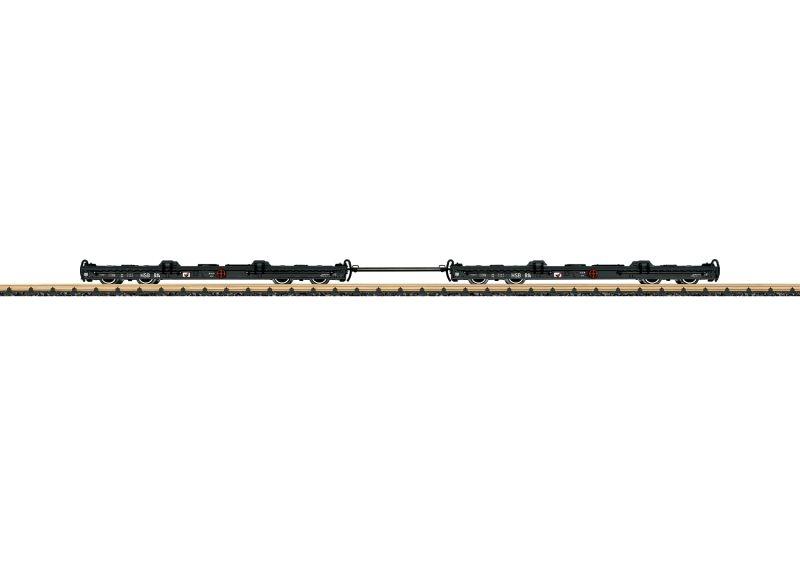 Rollwagen-Set der HSB, Spur G