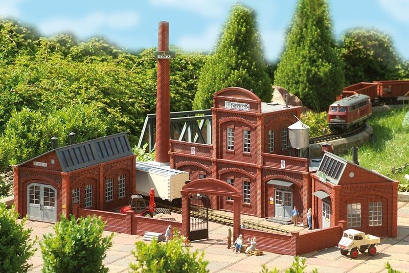 Brauerei Hauptgebäude, Bausatz, Spur G