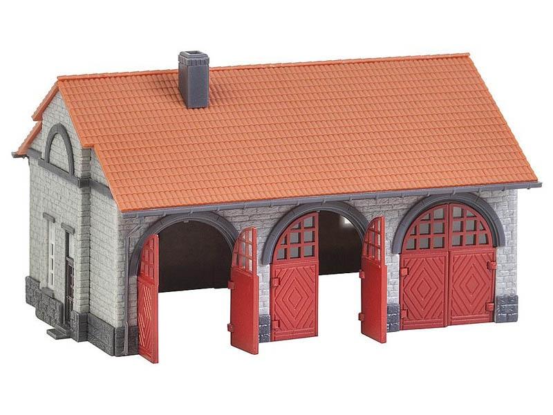 Feuerwehrgerätehaus Bausatz N