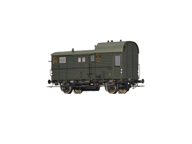 Güterzuggepäckwagen Pwg pr 14 der DRG, II, Spur H0
