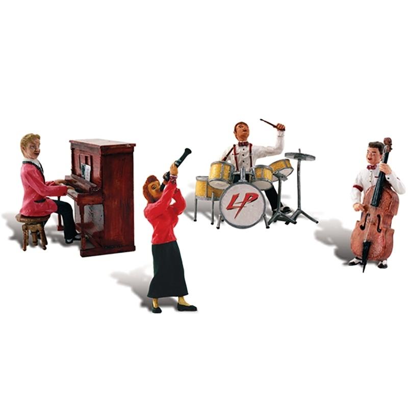Jazzkapelle Figuren, Spur H0
