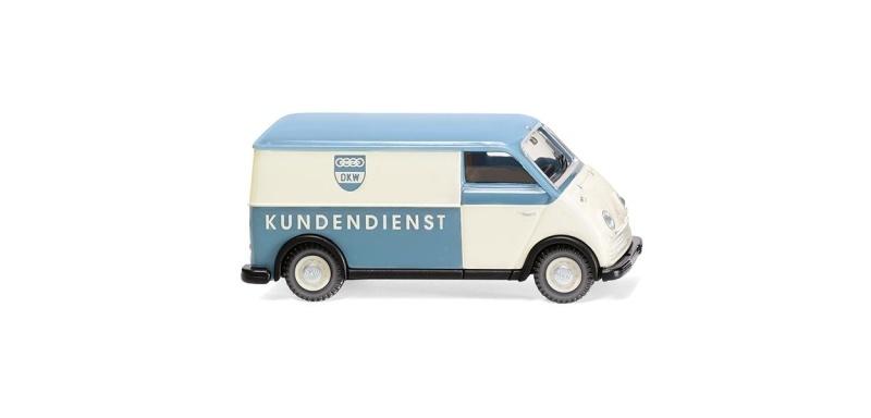 DKW Schnelllaster Kastenwagen DKW Kundendienst, 1:87 / H0