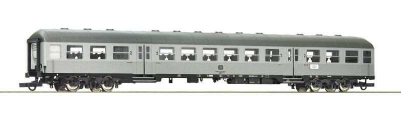 Nahverkehrswagen Silberling 2. Klasse der DB, DC, Spur H0