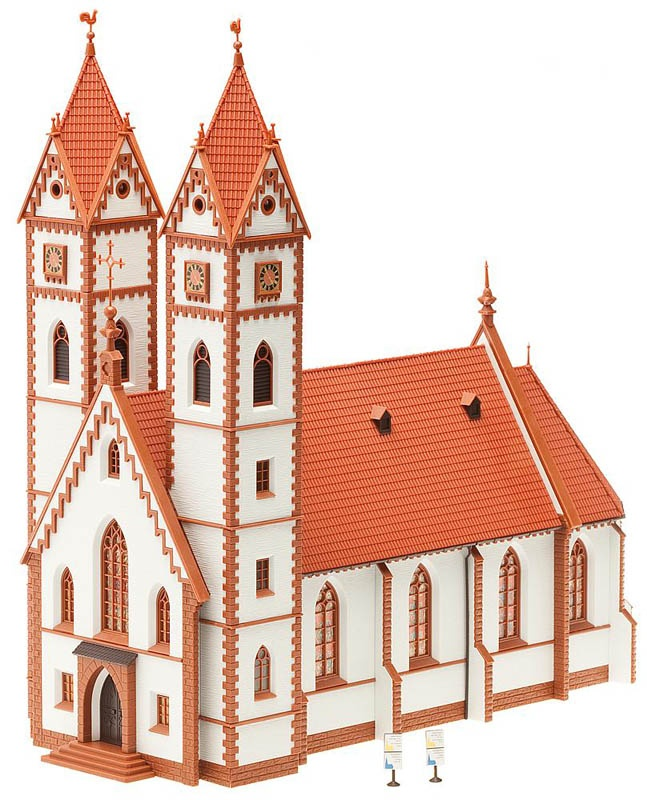Stadtkirche Bausatz H0