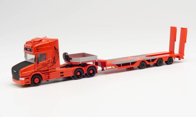 Scania Hauber TL Zugmaschine Tieflade-Sattelzug 1:87 / H0