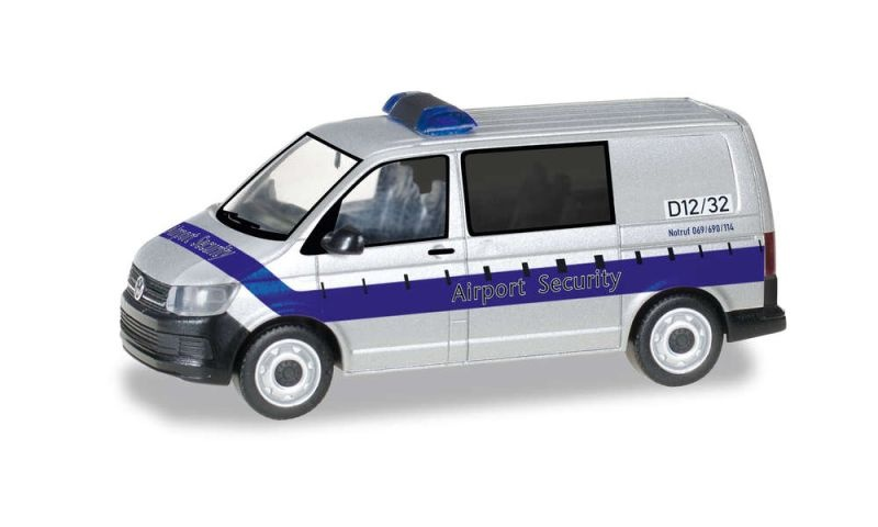 VW T6 Bus Fraport / Airport Security, 1:87 / H0