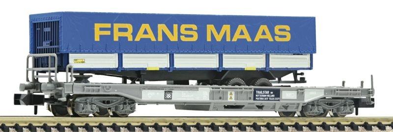 Einheitstaschenwaggon FRANS MAAS der NS, DC, Spur N
